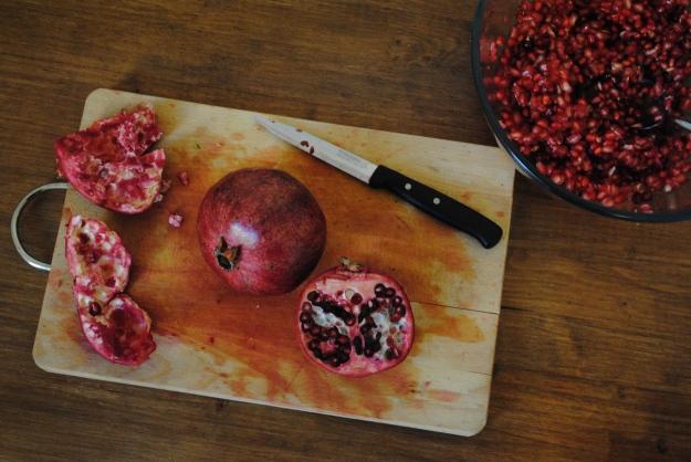 Melograno pomegranate Sicilian salad recipe